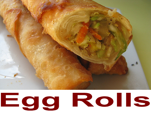 spring vegetarian egg roll